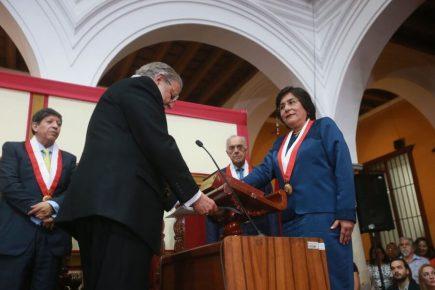 Marianella Ledesma: «Este honor lo dedico a las mujeres y a los más pobres»