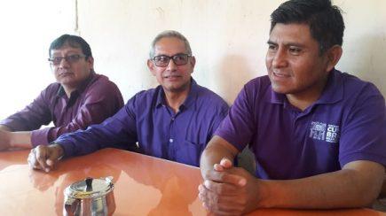 Candidatos del Partido Morado y Víctor Hugo Rivera, en desayuno electoral