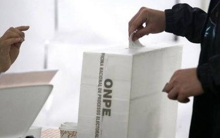 Elecciones 2020: Más del 50% de sufragantes no definen su voto en Arequipa