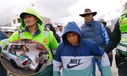 Arequipa: Azotan a dos sujetos acusados de robar, y uno muere