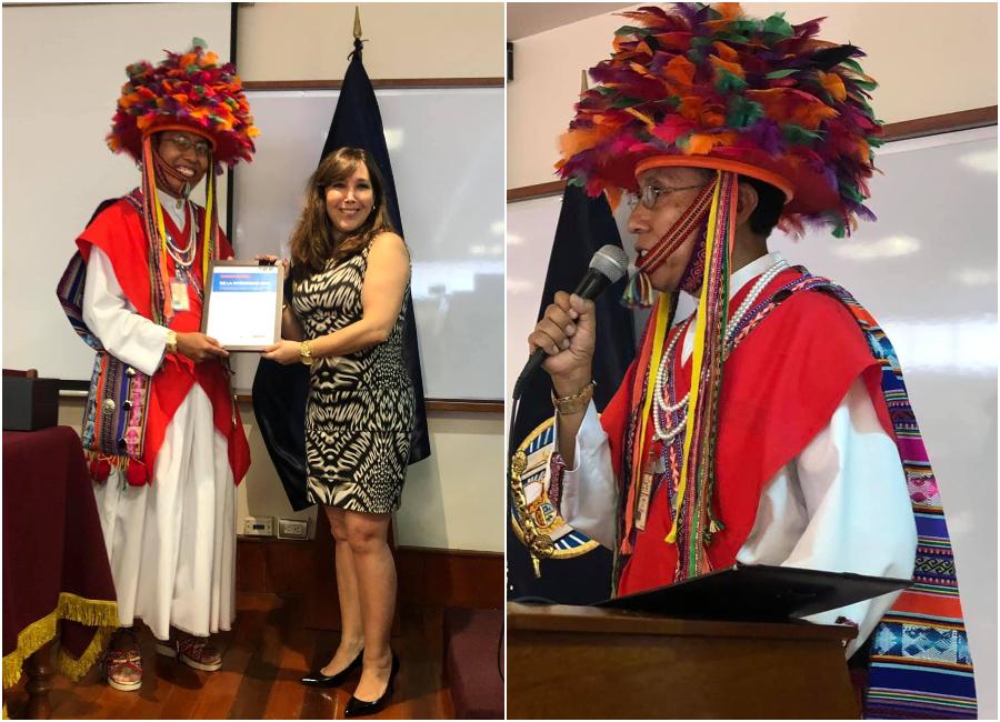 El servidor de la Corte de Justicia de Arequipa, Rafael Arce, fue distinguido como Embajador de la Integridad 2019.