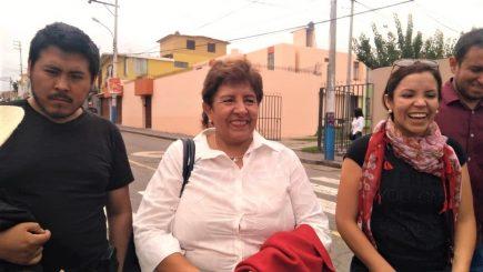 """Candidata Rosario Paredes: """"Ha habido momentos de guerra sucia» (VIDEO)"""