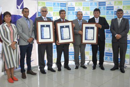 Sedapar: Planta La Tomilla logra certificación ISO 9001, ISO 14001 y OHSAS 18001