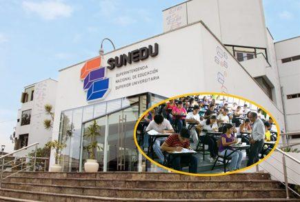 Conoce aquí las universidades con licencia denegada por SUNEDU hasta el momento