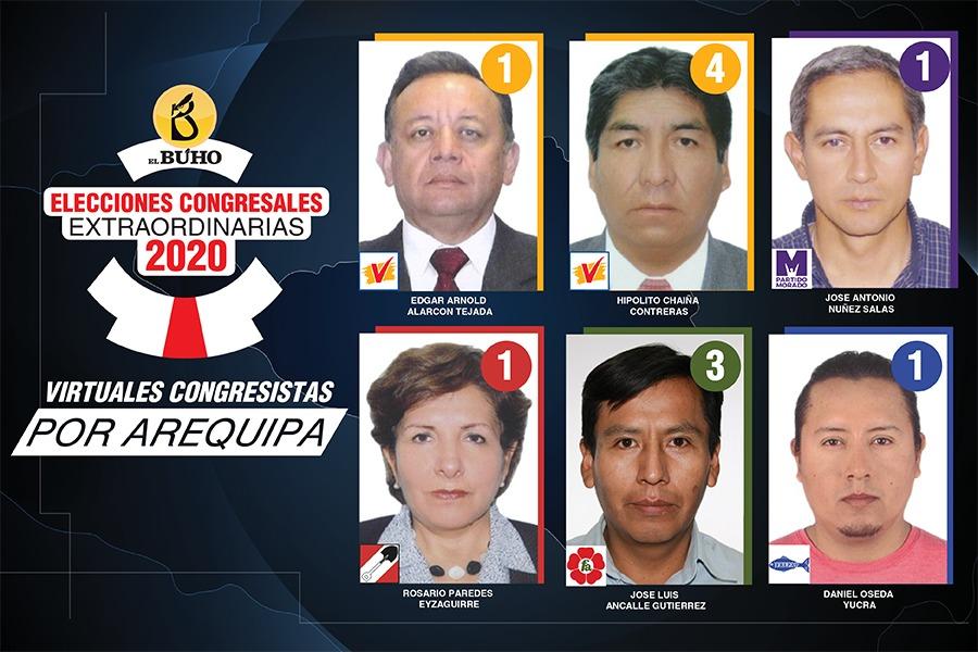 Congresistas nuevos Arequipa