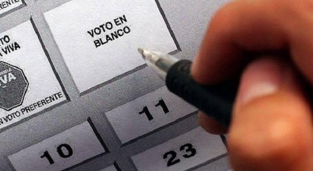 voto blanco o nulo