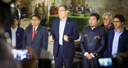 Tía María: Presidente Vizcarra no enfrenta conflicto social, según empresarios