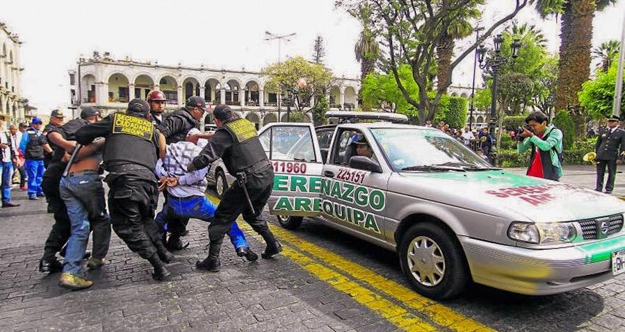 Arequipa seguridad ciudadana municipalidad de arequipa gobierno regional de arequipa policía nacional