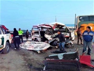 Arequipa: Se elevan a 10 los fallecidos en trágico accidente en La Joya