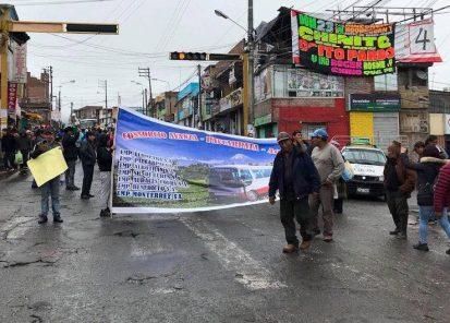 Arequipa: transportistas fuera del SIT levantan huelga de 48 horas