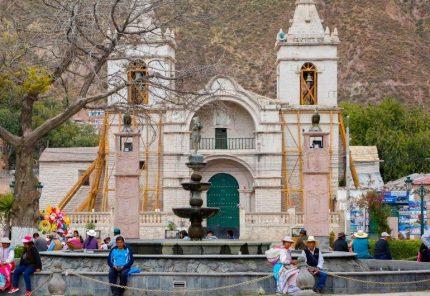 Transfieren 3,8 millones de soles para restaurar templo de Chivay