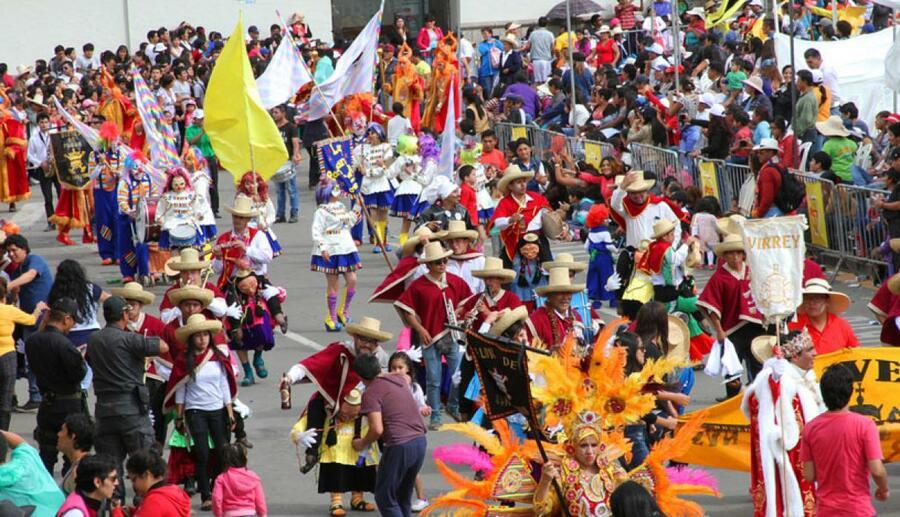 carnavales en Arequipa
