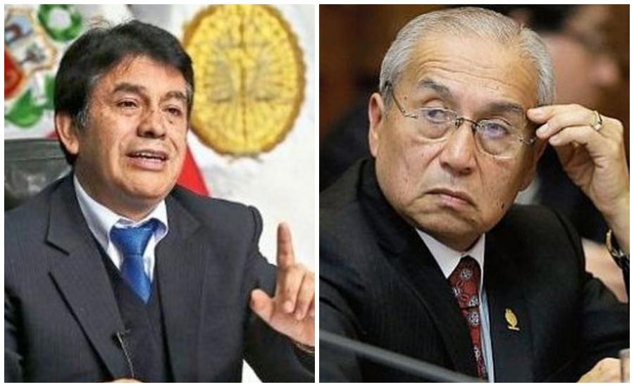 Tomás Gálvez y Pedro Chávarry en manos de la Junta Nacional de Justicia