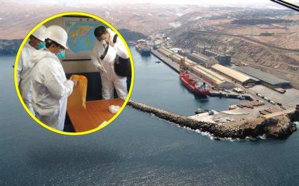 Coronavirus: descartan casos en embarcación china que ancló en Matarani