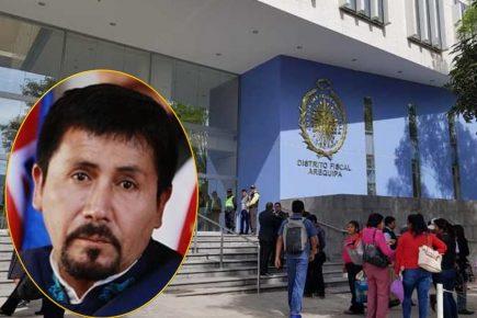 Arequipa: Gobernador tiene dos citaciones de grado o fuerza en Fiscalía