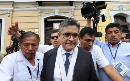José Domingo Pérez tras agresiones a su esposa: «Me encuentro desencajado»