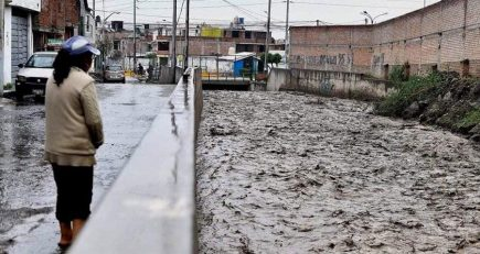 Pronóstico: lluvias fuertes continuarán en Arequipa, advierte Senamhi