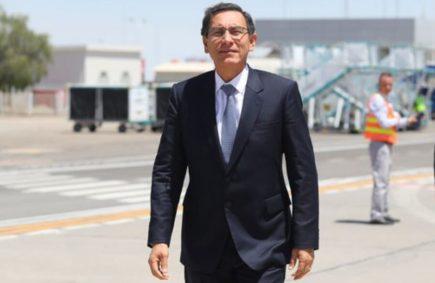 Presidente Martín Vizcarra confirma llegada a Arequipa este viernes