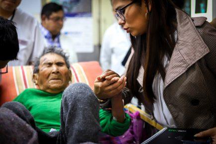 Arequipa: Hospitalizan a mujer más longeva del mundo de 123 años