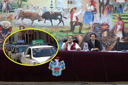 Municipio de Arequipa dará  Setare a taxistas informales a pesar de cuestionamientos