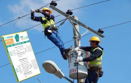 Arequipa: Corte de servicio eléctrico en 4 distritos este jueves 6