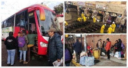ACT: Terminales terrestres de Arequipa vuelven a reabrir después del ingreso de huaico