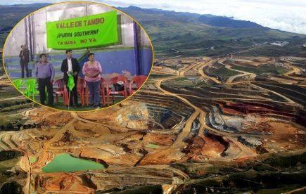 Tía María: Solo tres congresistas acudieron a cita en Valle de Tambo