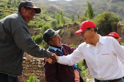 Presidente Vizcarra: en marzo culminan estudios para represa Yanapujio