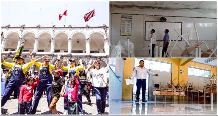 Arequipa: la vuelta a clases con incertidumbre por estado de colegios