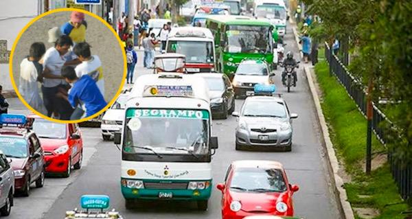 Arequipa combis transporte público robos