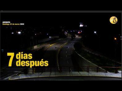 Covid-19: El país, a una semana de vigencia del Estado de Emergencia