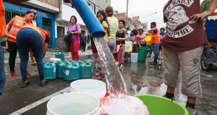 591 millones para que todos en Arequipa tengan agua potable y desagüe