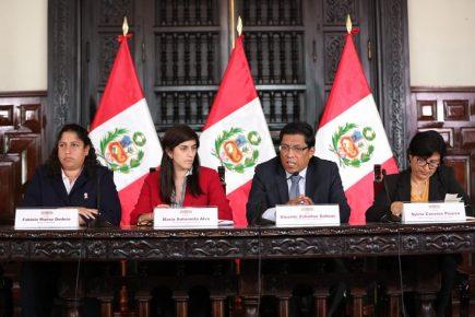 Perú conmemora Día Internacional de la Mujer con 9 mujeres ministras