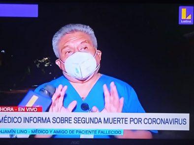 Informan de segunda muerte por coronavirus en paciente  de 69 años en Lima