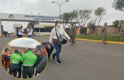 Arequipa: esta es la situación en el Terminal Terrestre y Aeropuerto