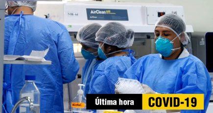 Tercer caso confirmado de Covid-19 en Arequipa
