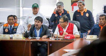 Ministro de Agricultura supervisa acciones contra el coronavirus en Arequipa