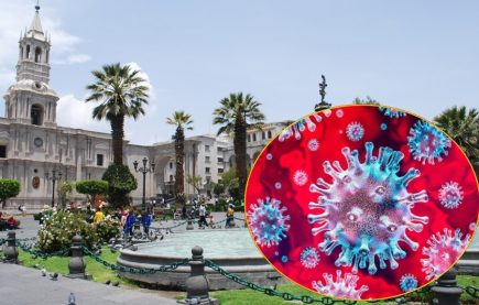 Coronavirus: Aumenta a 21 casos de infectados en Arequipa