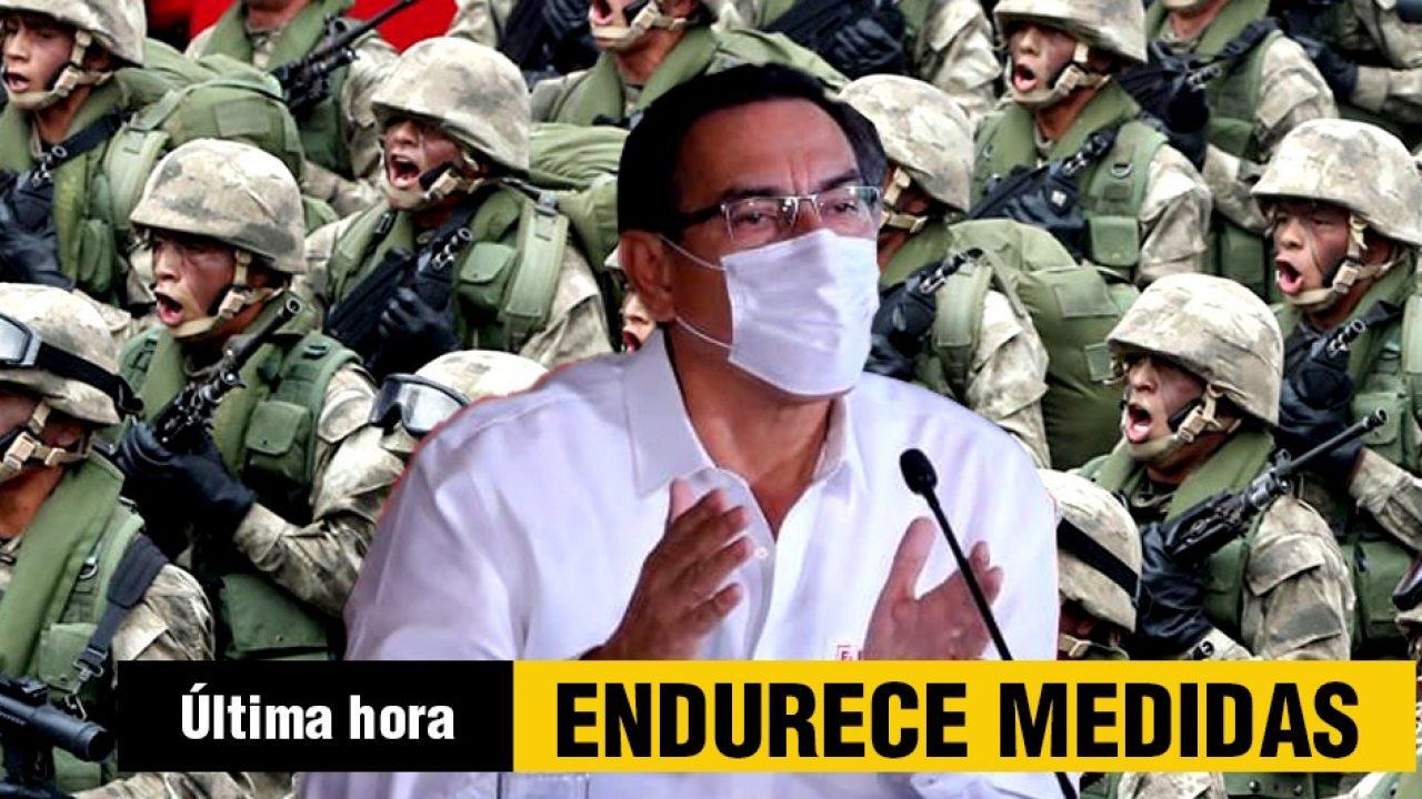 Gobierno Endurece Toque De Queda Ante Avance Del Coronavirus En Peru El Buho