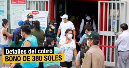 Estado de emergencia: detalles sobre bono de 380 soles para independientes