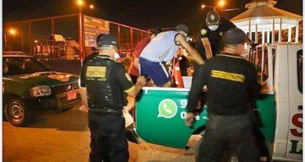 11 mil detenidos y 147 teléfonos suspendidos: la negligencia de la población