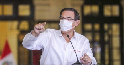 Vizcarra pide responsabilidad al Congreso y advierte que sigue aislamiento