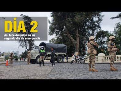 COVID19: Medidas de seguridad se han intensificado en Arequipa