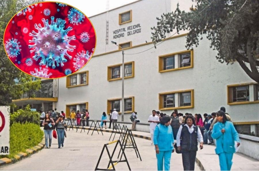 Arequipa: tres personas mueren por coronavirus en hospital Honorio Delgado