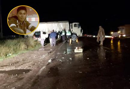 Indignación por atropello y muerte de soldado en pleno Estado de Emergencia