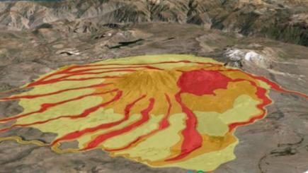 Arequipa: INGEMET registra ocurrencia de lahar en Volcán Misti