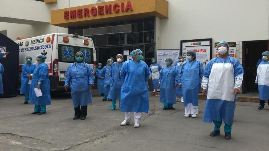 """Arequipa:""""Reutilizamos mandilones y mascarillas hace 15 días"""", afirman médicos"""