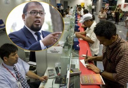 Arequipa: Omar Candia pide suspensión de pagos de deudas en bancos