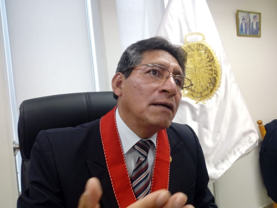 Presidente de la Junta de los Fiscales de Arequipa, Franklin Tommy se pronuncia sobre caso de terapeuta. Foto: El Búho