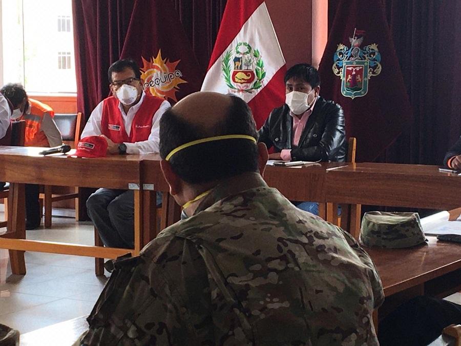 reunión COER Arequipa